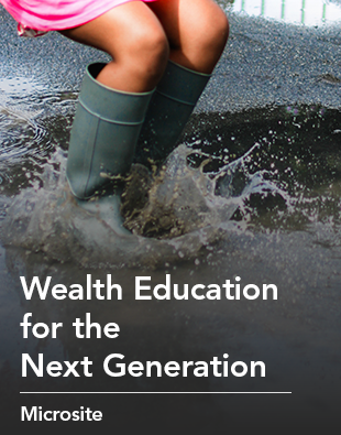 Microsite: Wealth Education for the Next Generation
